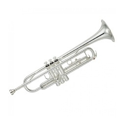 Yamaha YTR-3335S Advanced Student Trumpet - Silver image