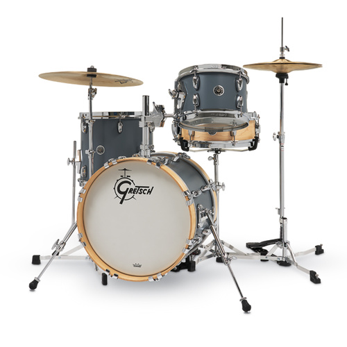 Gretsch Brooklyn Micro Drum Kit Satin Grey